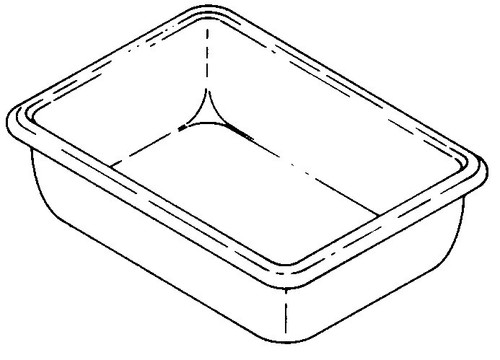 Hobart Saws - Bone Dust Pan . - H081-5514