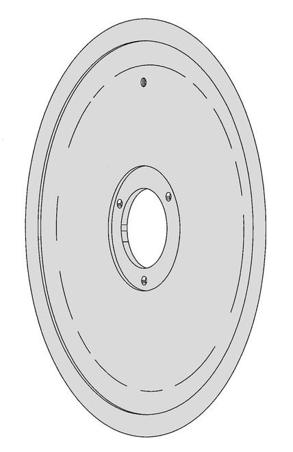Berkel Slicer Blade - BSK-5 (Hard Chrome)