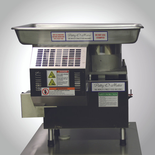 Patty-O-Matic - PR12 - UL/EPH - NSF/ANSI 8 Standards
