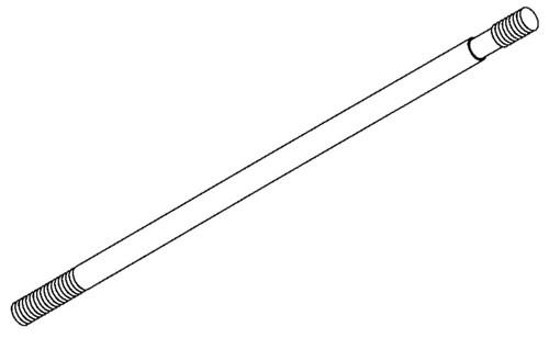 Bizerba Slicer - Blade Cover Shaft - SE12 - BZ065