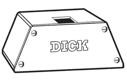 F.Dick -- Gear Box --  18lb, 24lb, & 30lb. Models - 907152392