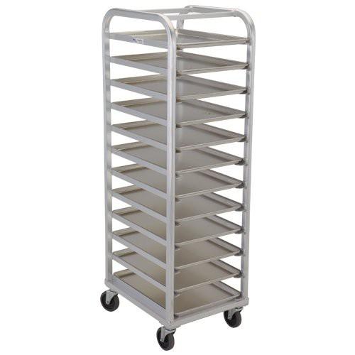 Heavy Duty Aluminum 12 Tier - Platter Dolly