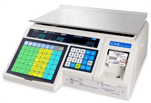 CAS LP1000N Scale - Label Printing Scale