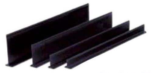 Plastic Dividers - All Black 5'' High