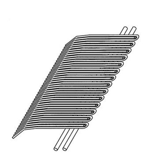 Biro Pro 9 - Back Wire Comb - B302B