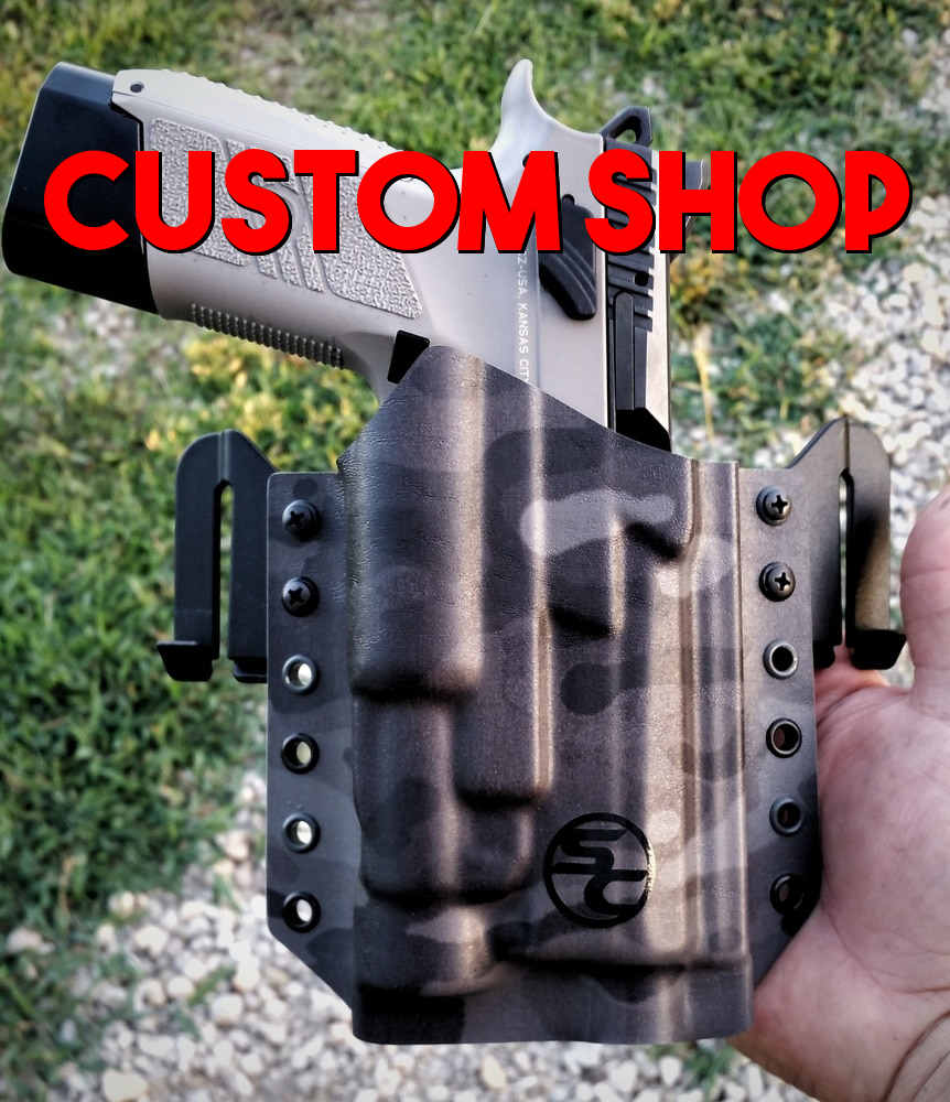 Build Your Custom Pancake Style OWB Holster