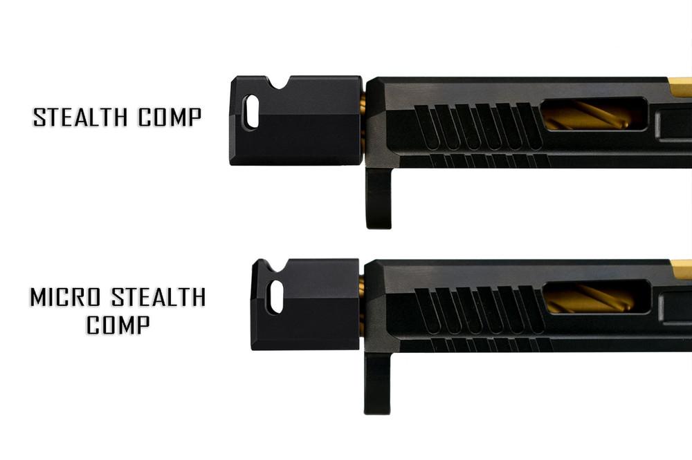 CZ P10 Micro Stealth Comp
