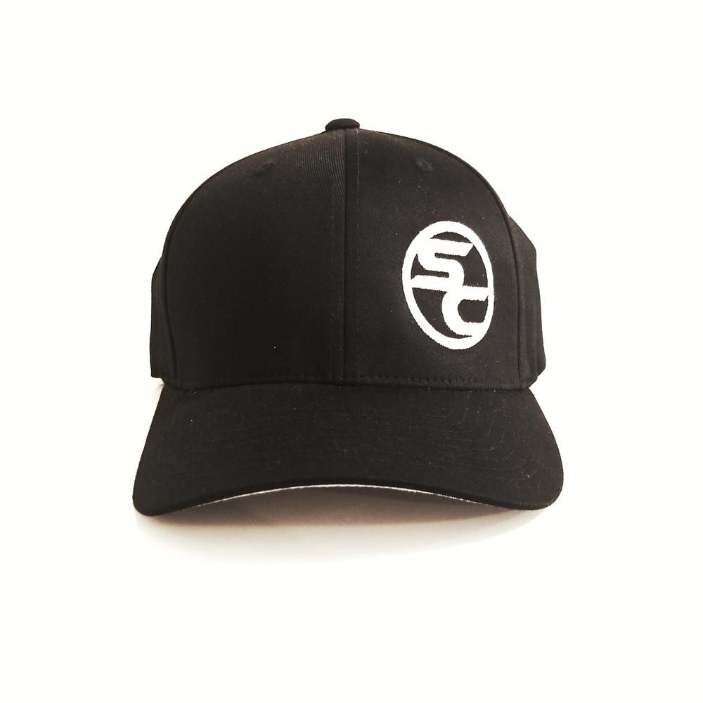 SC Black Flexfit Hat