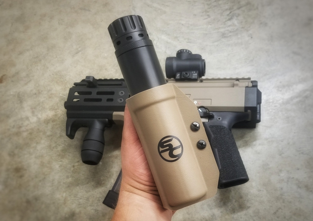 Silencer/Suppressor Carrier