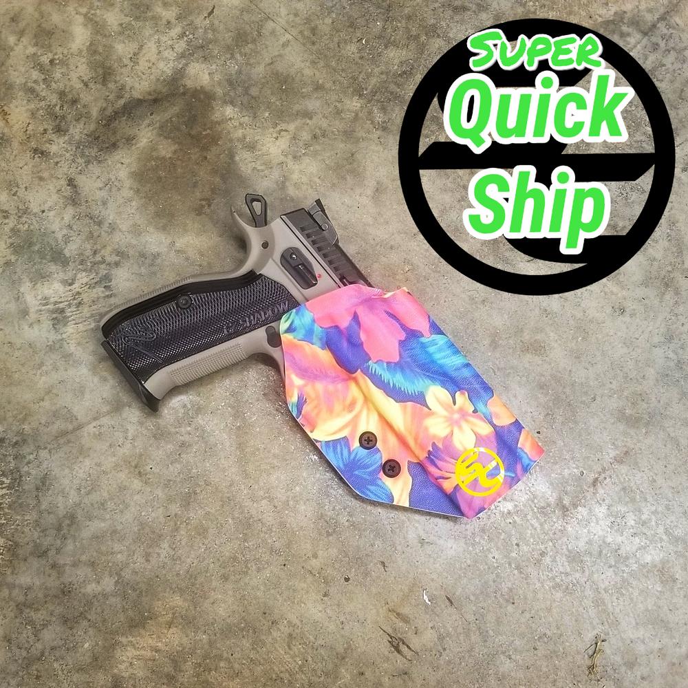 CZ Shadow 2 OWB Holster Boogaloo Hawaii 5.0  (Super QuickShip)