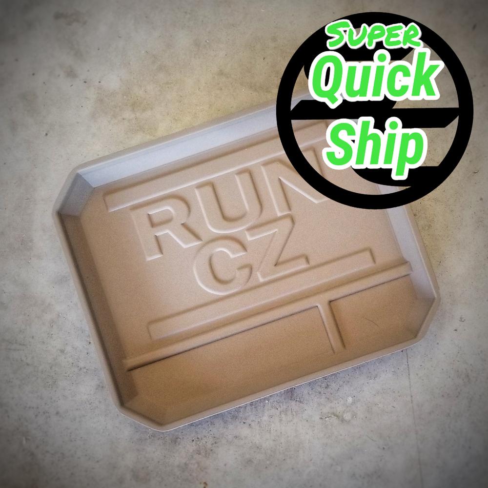"""EDC Dump Tray """"RUN CZ"""" FDE (Super QuickShip)"""