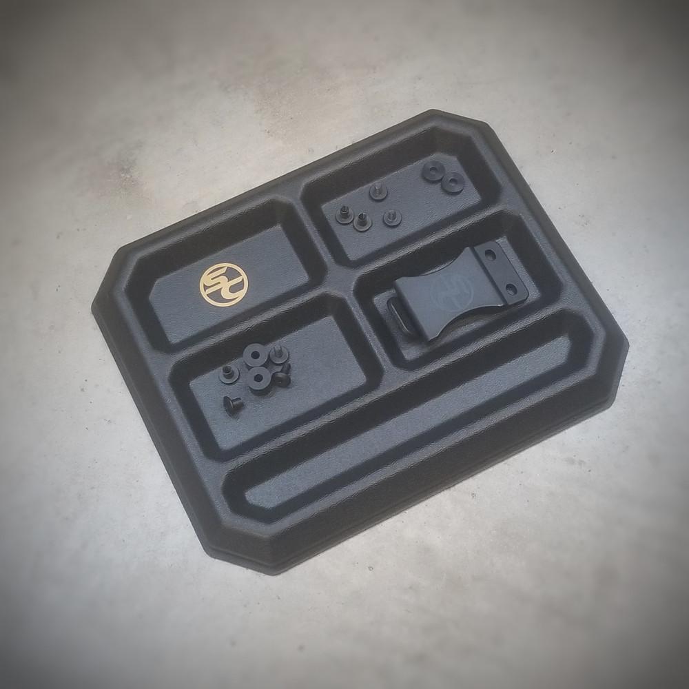 Parts Tray Black (Super QuickShip)