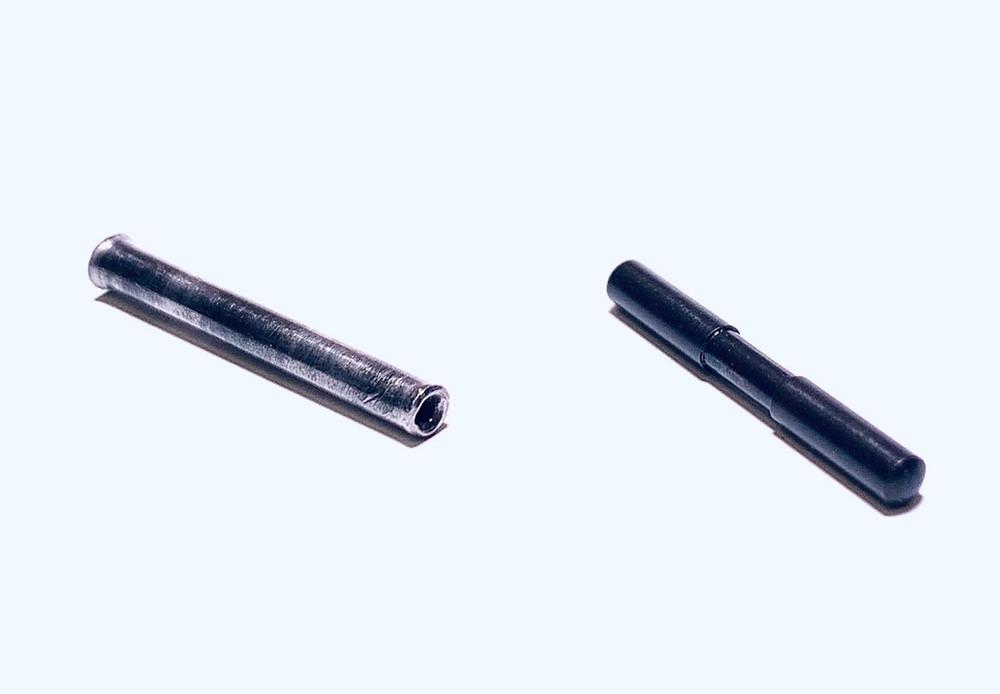 Old pin vs new