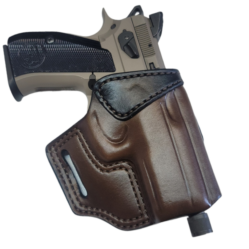 OWB CZ P-01 Holster (Dinnerbell Leather)