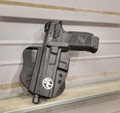 Left handed P07/P09 shown with Bladetech Paddle