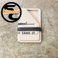 Closeout Wallet / Card Carrier (Come and Take It)