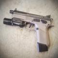 CZ Omega Flat DA/SA Trigger Black (P-07/P-09/P-01Ω/75BΩ)