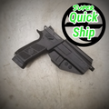 CZ P-07/P-09 OWB Holster Black  (Super QuickShip)