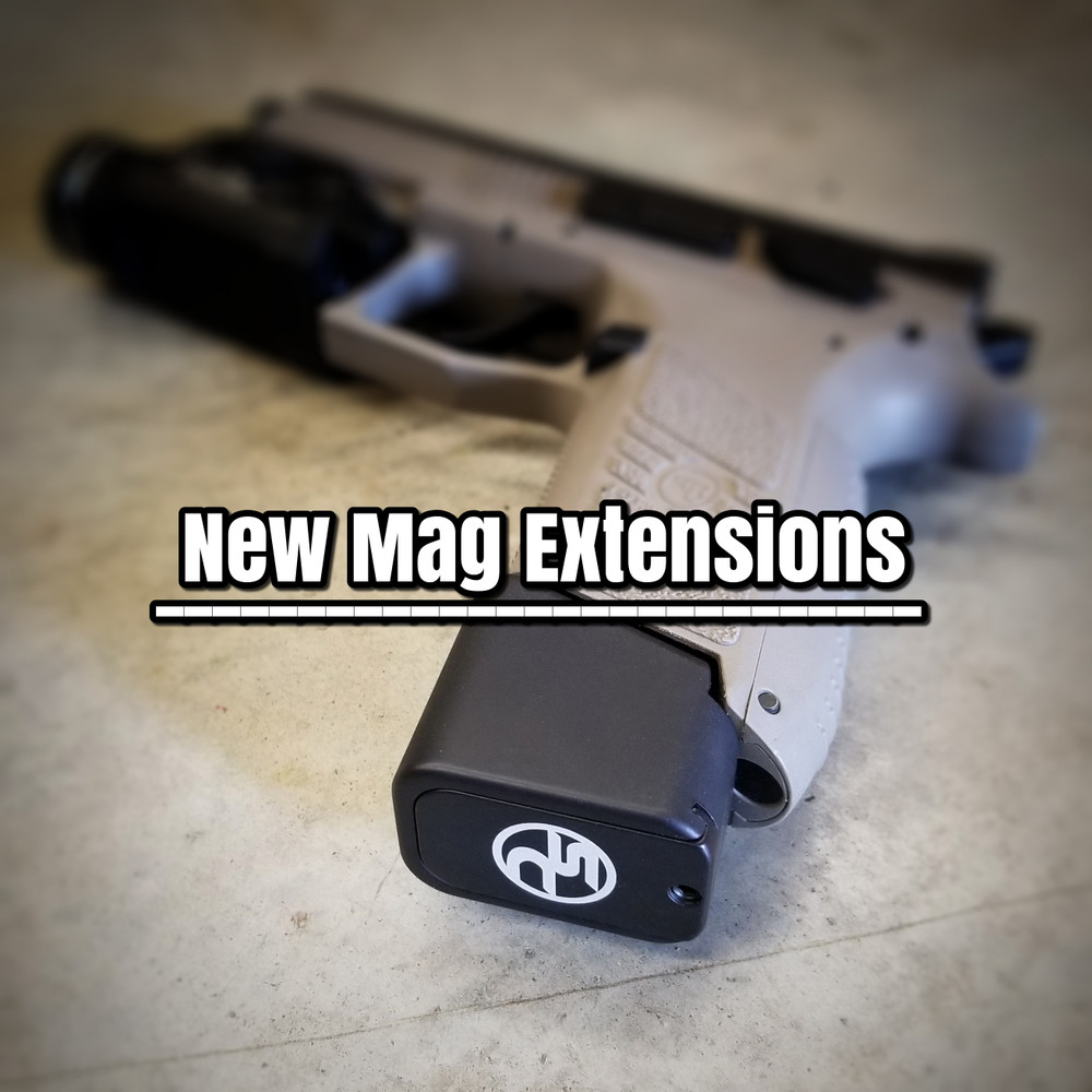 Shook's Customs +5 Mag Extensions and Floor Plates