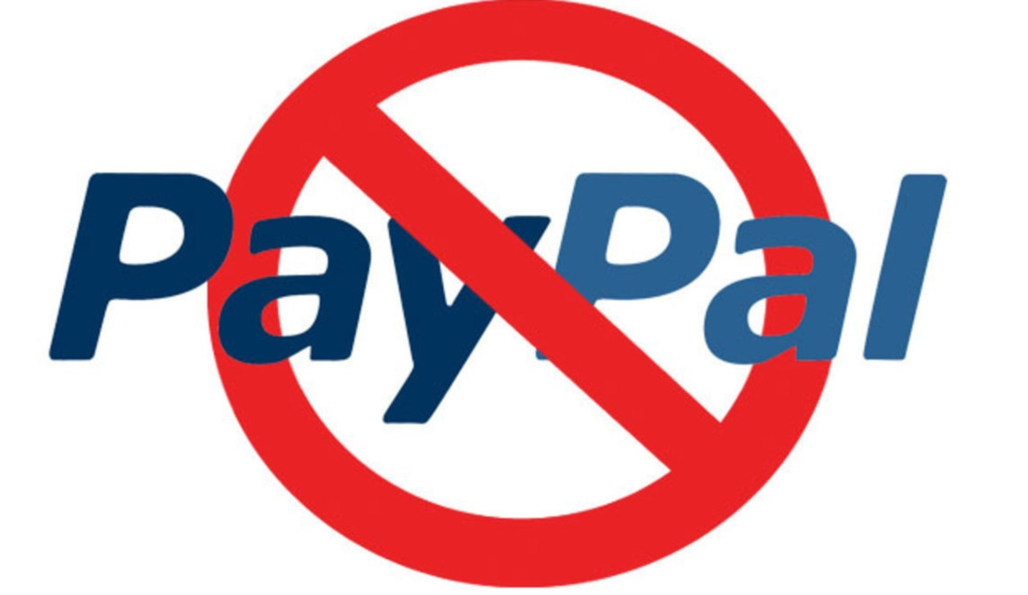 We no longer accept PayPal!