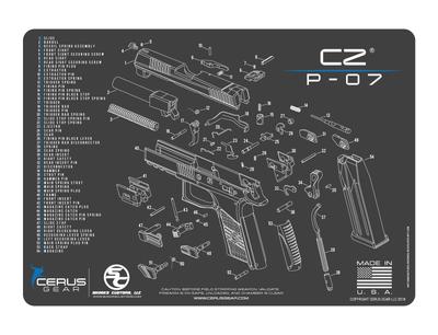 CZ P-07 Schematic ProMat