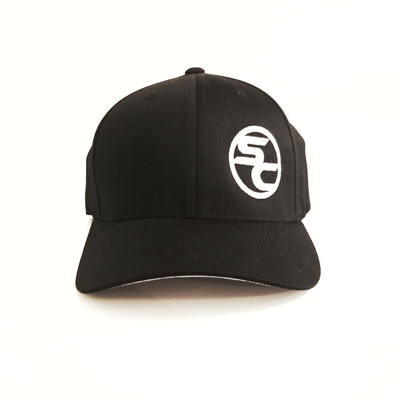 SC Black Flexfit Hat