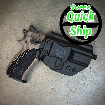 CZ P-01 IWB Holster Black (Super QuickShip)