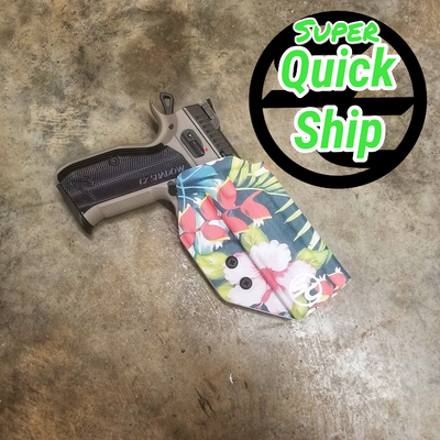 CZ Shadow 2 OWB Holster Boogaloo Luau  (Super QuickShip)