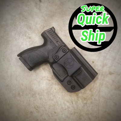 CZ P-10S IWB Holster Black (Super QuickShip)