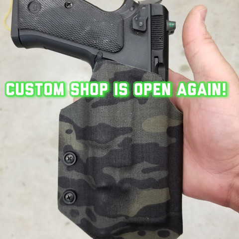 The Custom Shop is OPEN!