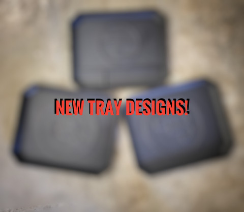 New EDC Tray designs now available!