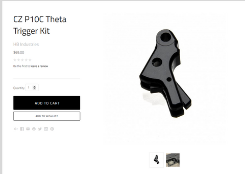 P10 Theta Triggers Finally in Stock!!!
