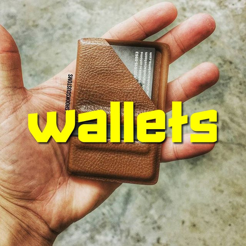 Wallets are now ready to order!