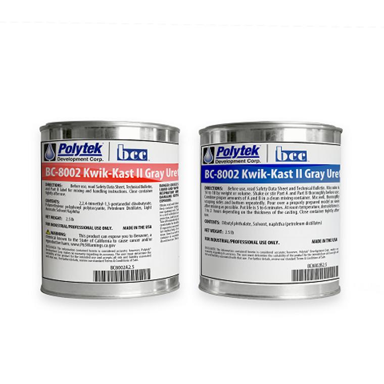 BC-8002 Kwik-Kast II Gray Urethane Resin
