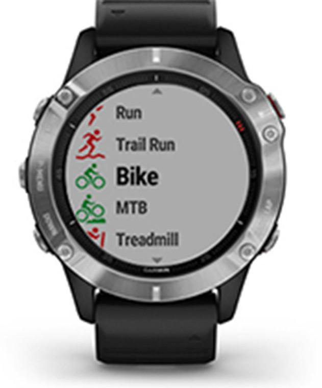 Garmin fenix 6X Pro - Fitness GPS Watch Black with Black Band
