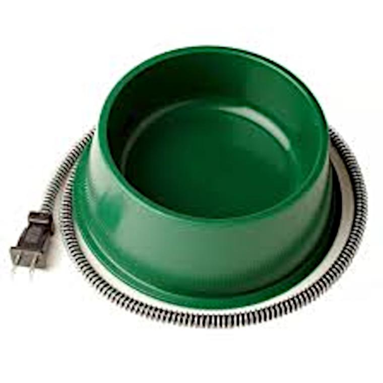 heated pet bowl - 6 quarts - at okie dog supply