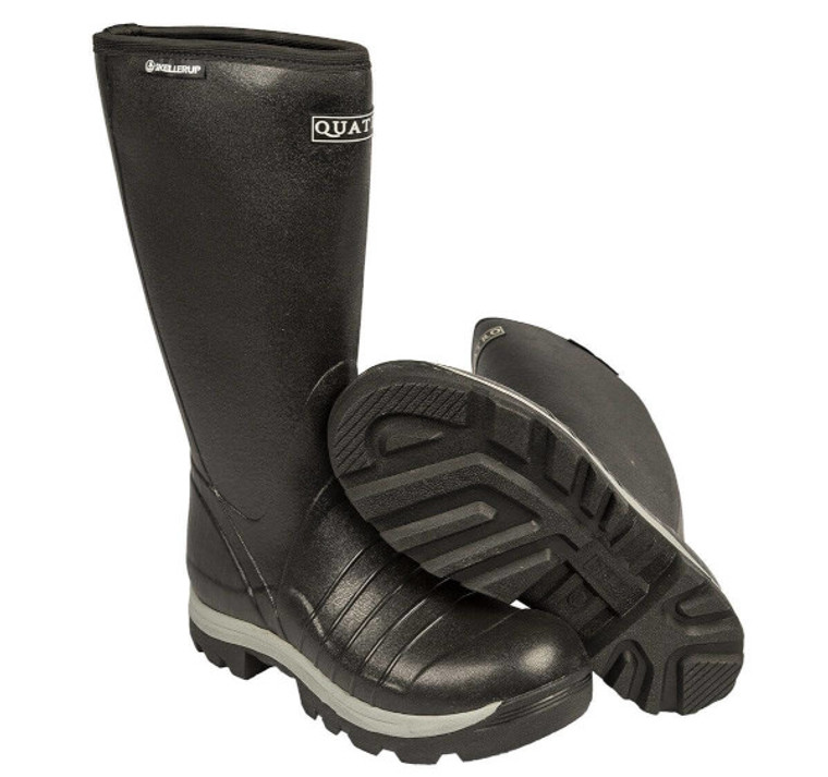 quatro insulated boots are warm, tough and waterproof - available at okie dog supply!