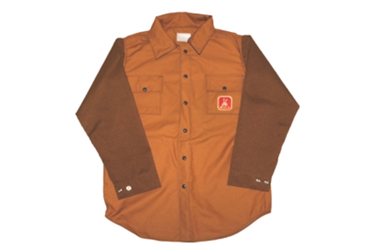 mule hunting clothes duck shirt with briarproof sleeves