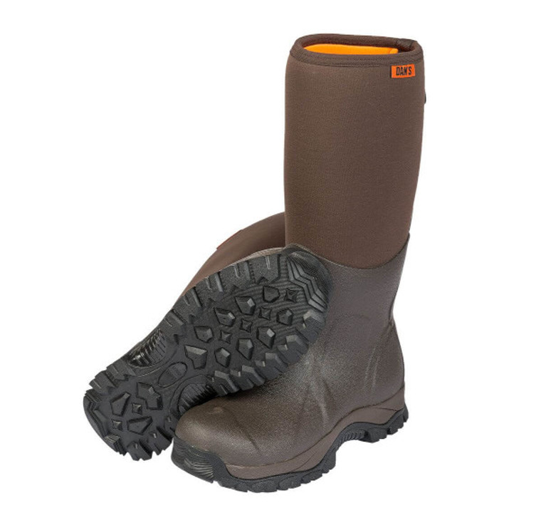 dans frogger boots at okie dog supply - waterproof hunting boot with gel insole