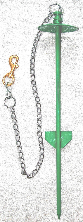 Heavy-Duty Tie-Out with Chain