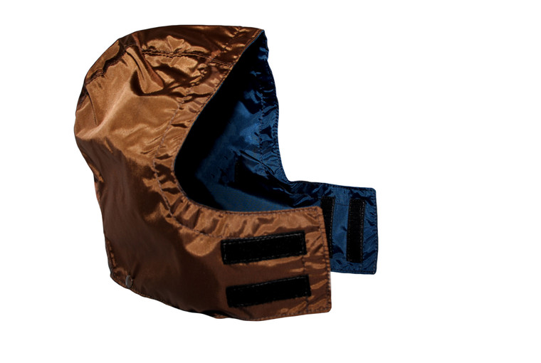 lightweight brown mule hunting clothes detachable hood at okie dog supply