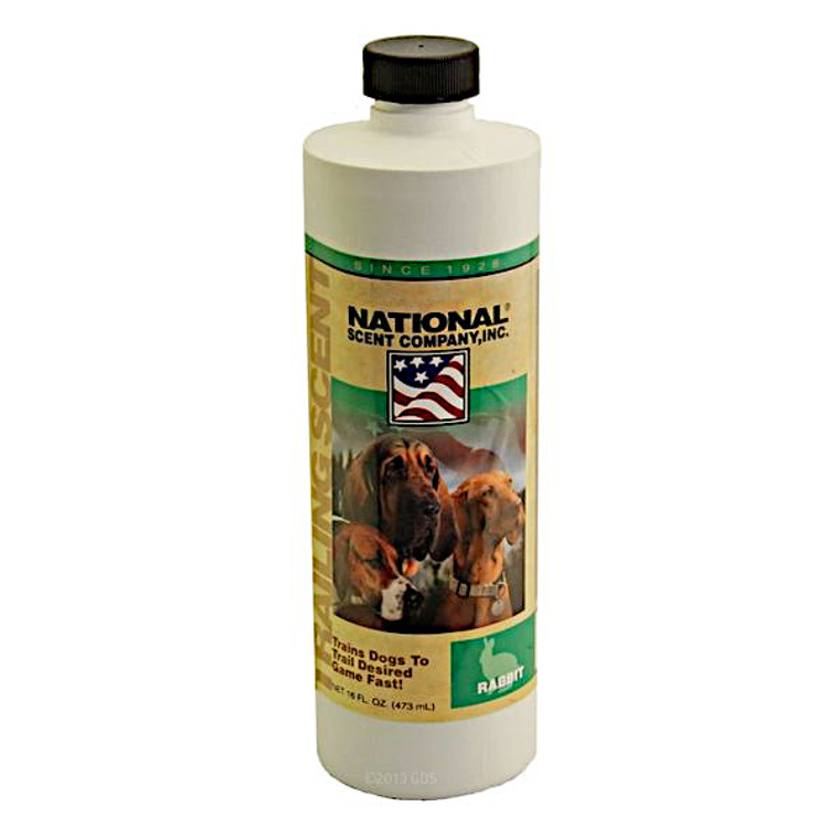 rabbit training scent - trailing scent for rabbit dogs - at okie dog supply