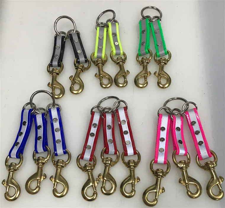 reflective couplers at okie dog supply allow you to walk more than 1 dog at a time