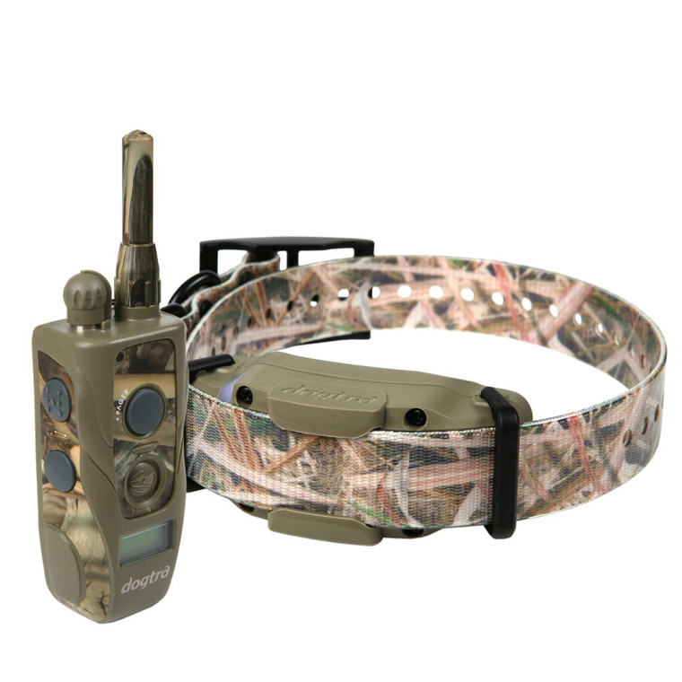 Dogtra 1900S Wetlands - camo wrapped unit certified waterproof! Ships FREE at OKIE DOG SUPPLY. 3/4 Mile range.
