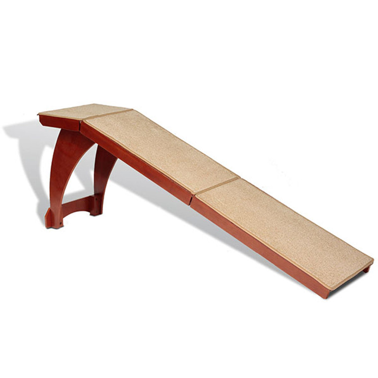 Bedside Ramp is an attractive, effortless way to reach even the tallest beds.