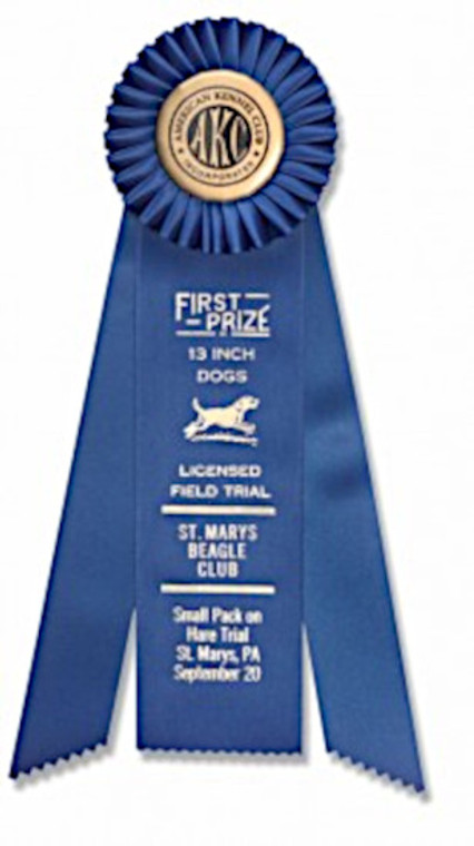 rosettes for club awards - any club or event we can do at okie dog supply