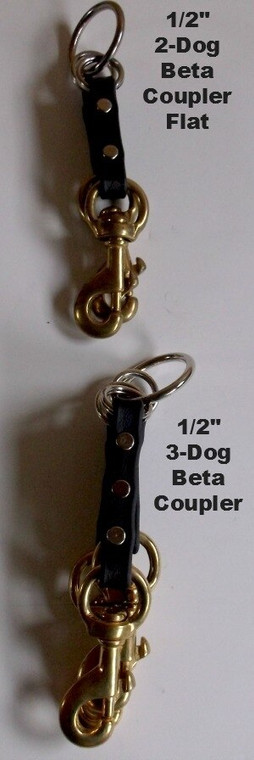 picture shows how the 3dog coupler lays flat