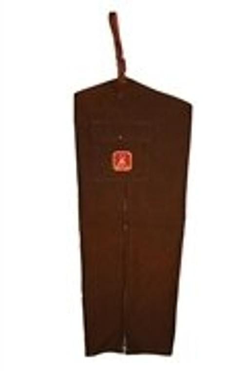mule waterproof chaps in brown - original briarproof - no liner