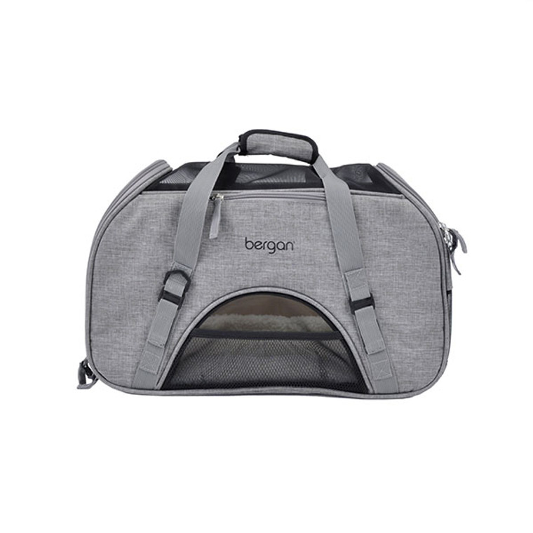 The Comfort Carrier is a stylish travel must-have for the busy pet owner concerned about their pet's comfort. Available at OKIE DOG SUPPLY!