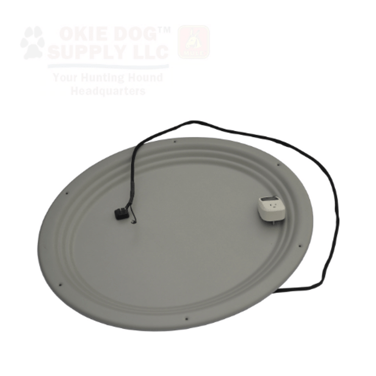 easy loader whelping nest - oval shape - antimicrobial. Great for larger dogs. Available at OKIE DOG SUPPLY!
